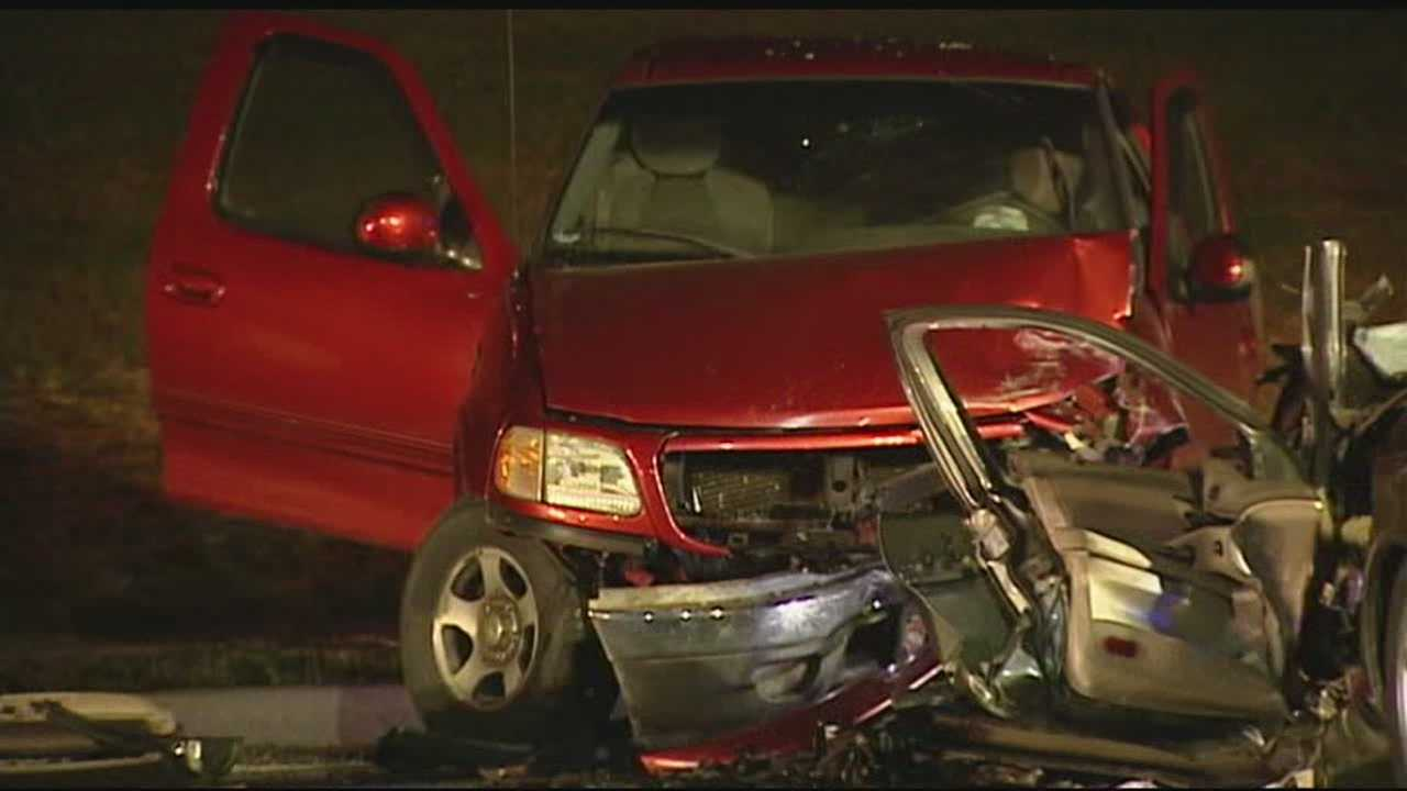 The driver of a car that caused a crash early Wednesday morning could be charged with a crime.