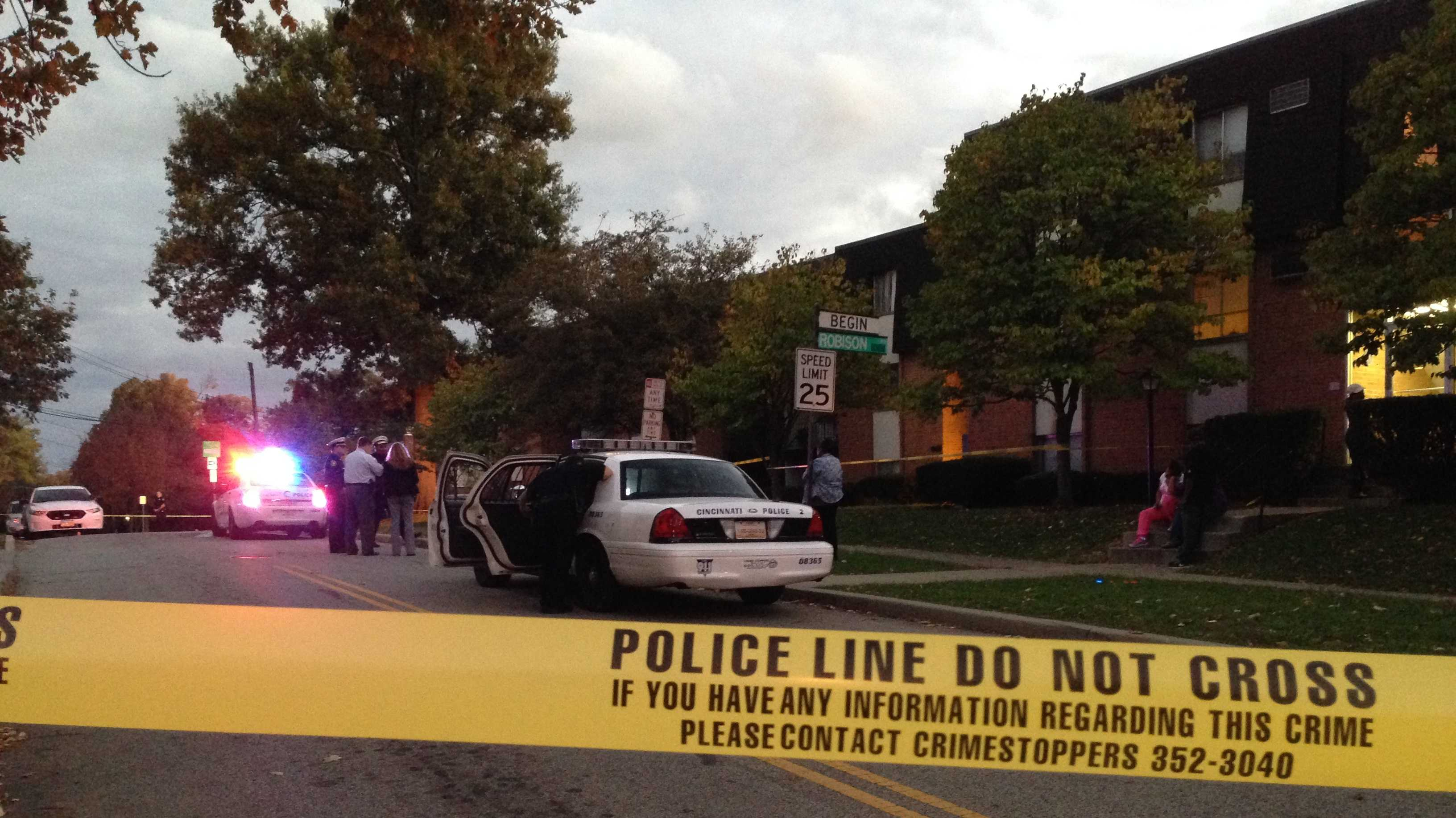 Kennedy heights shooting scene