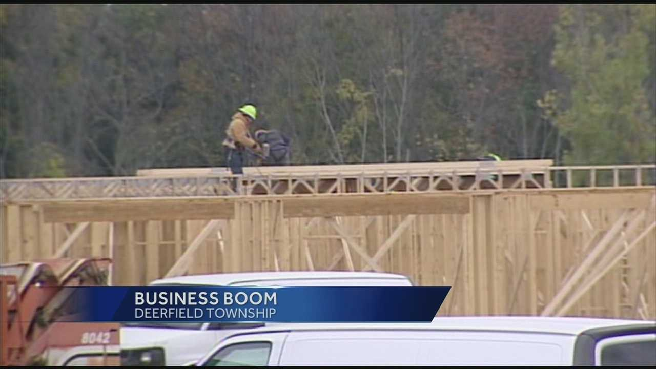 The city of Mason is experiencing a building boom that is bringing new businesses and apartments.