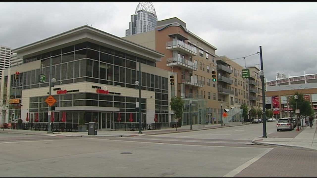 Part of the popular development in downtown Cincinnati known as The Banks has been sold to an investment firm.