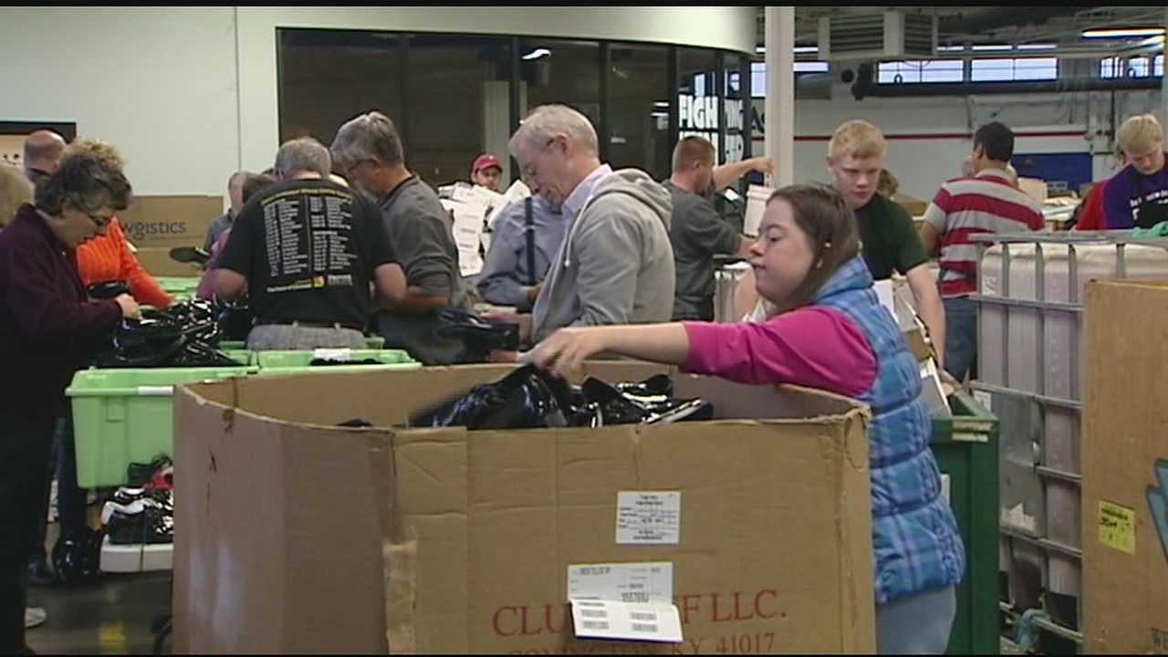 The city of Montgomery took the message of Making A Difference Day around the Tri-State as volunteers spread good will to neighbors far and near.