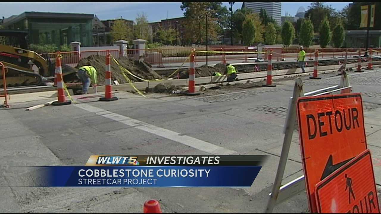 Bricks and cobblestone removed to make way for streetcar project will be returned to the streets of Cincinnati.