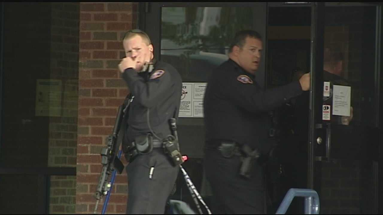 There is no suspect Tuesday after police swarmed into Lockland Elementary school after reports of a gunman inside.
