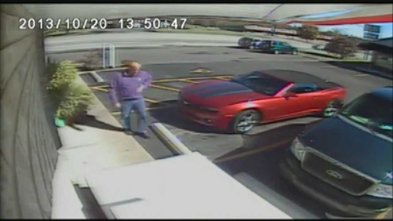 The sheriff's office is calling a man in the video a person of interest in the case, and the investigation is now focused on Hardin and Nelson counties.