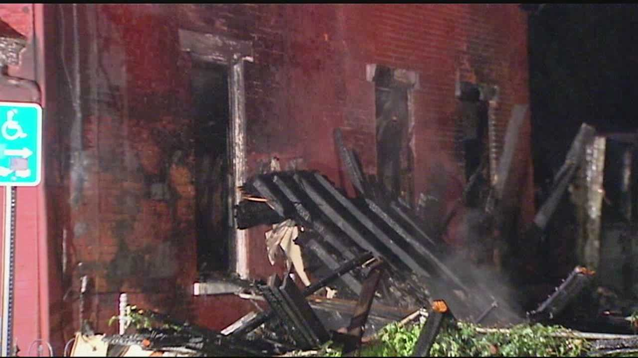 Nineteen people were forced to find another place to stay after a large house fire in Covington.