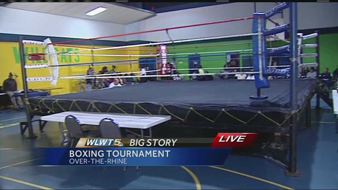 Saturday, Lewis' boxing friends held a tournament dedicated to him in Over-the-Rhine.