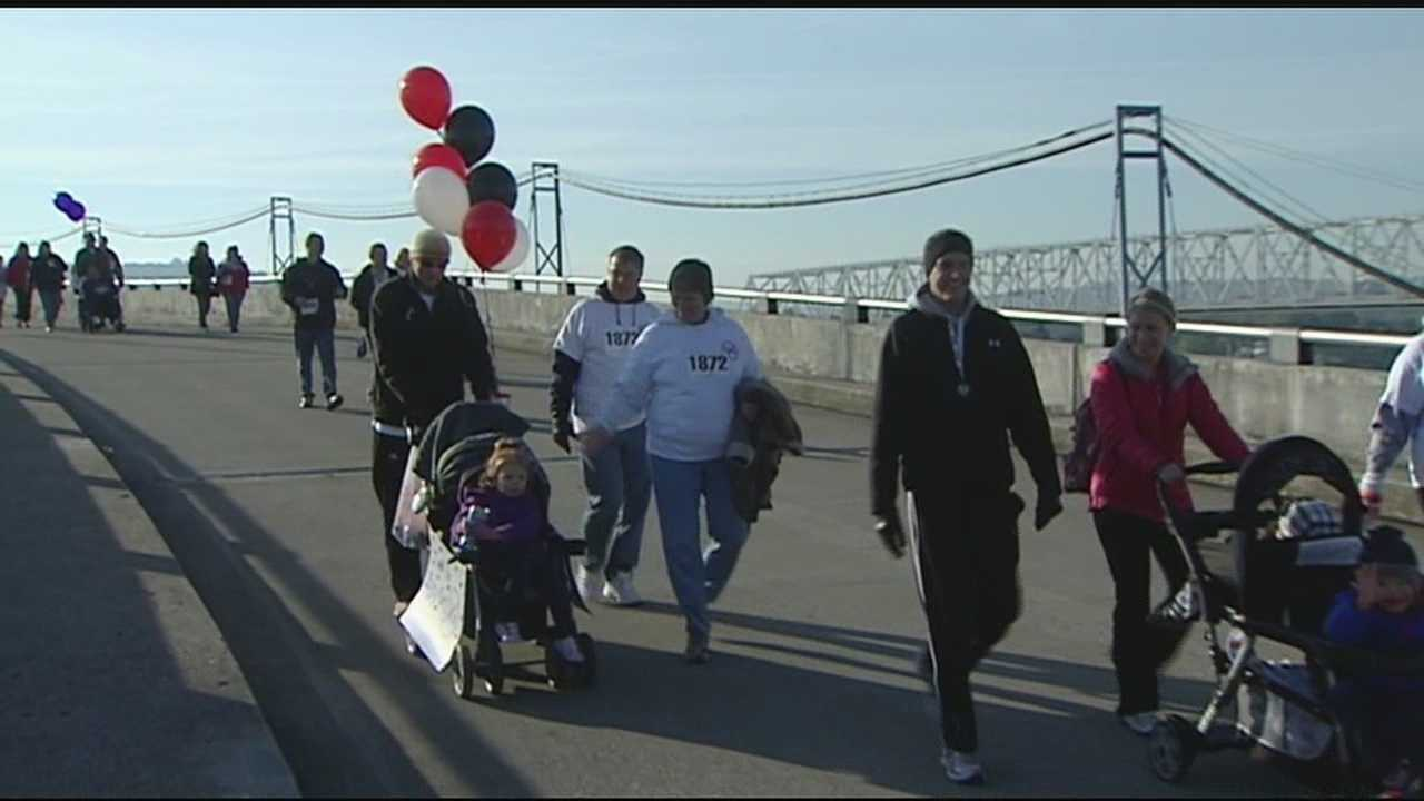 The fourth annual Walk Ahead for Brain Tumor Research 5K kicked off Sunday morning.