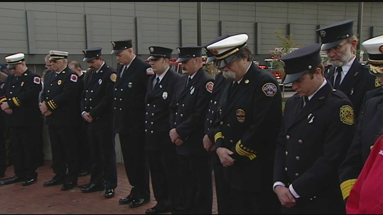 Tri-State community bids farewell to fallen firefighter