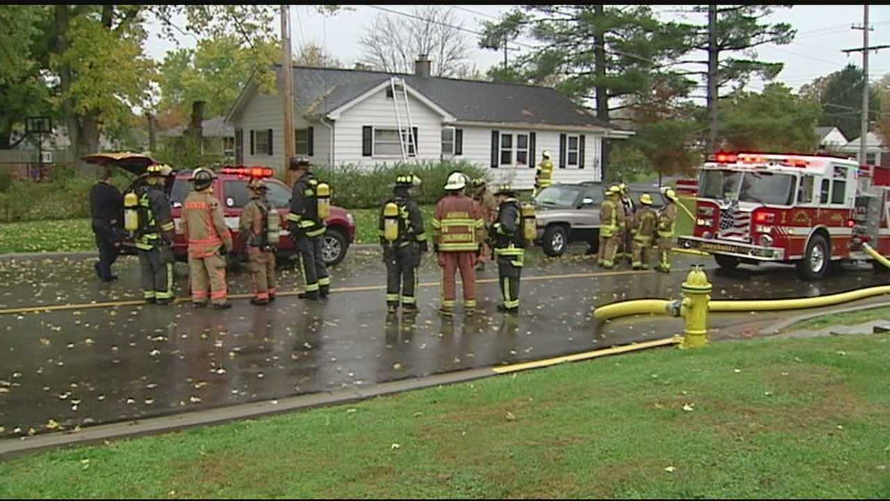 Off-duty firefighter Mike Kernan was nearby when he heard the call on the radio. He ran into the home without his gear to pull the couple to safety.
