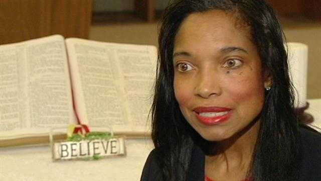 Raw: Tracie Hunter speaks to WLWT's Courtis Fuller