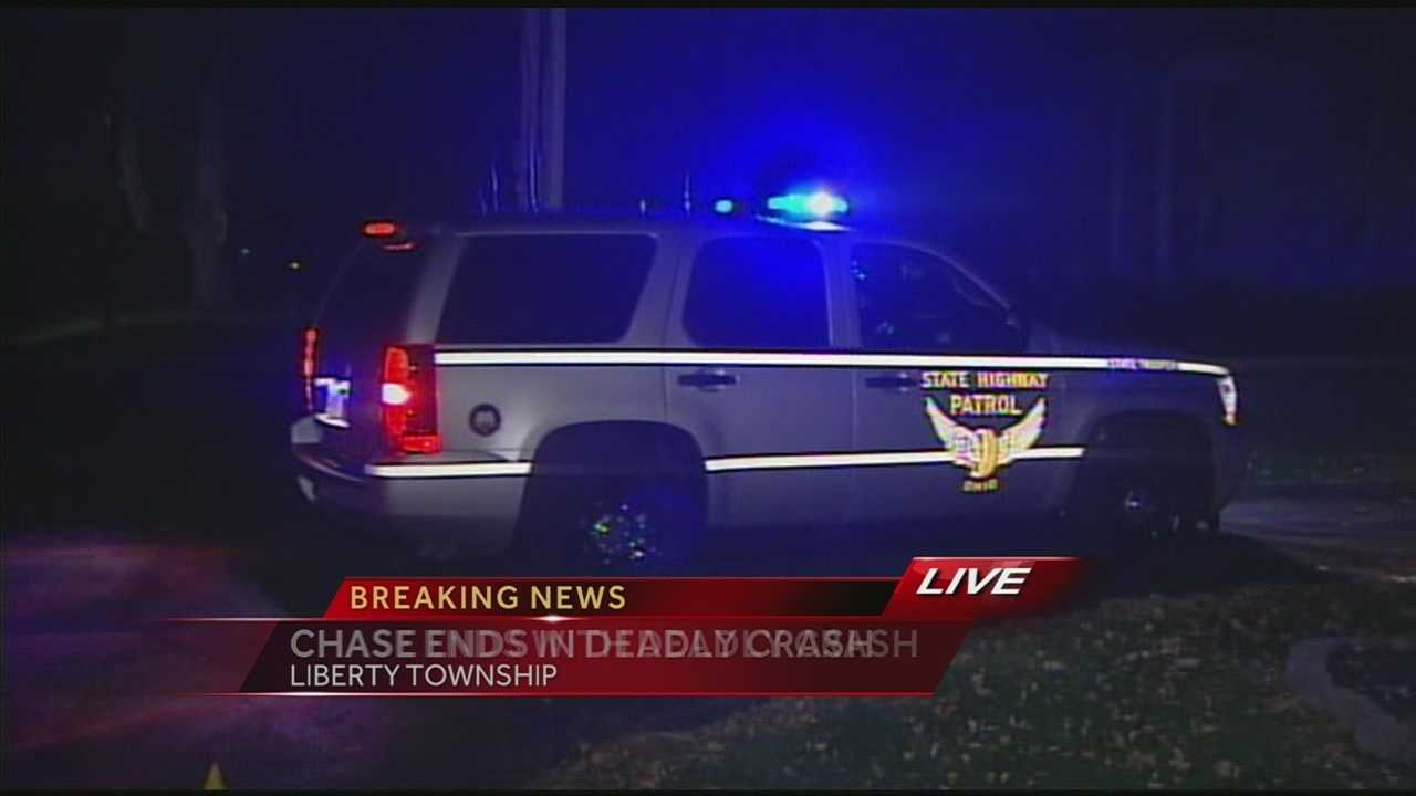 One dead after chase ends with crash