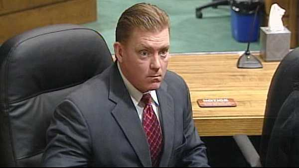William O'Leary in court