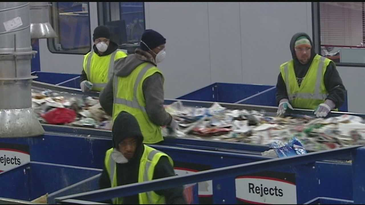 A state-of-the-art recycling center takes the place of one that burned down in St. Bernard.