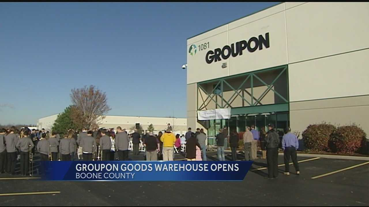 Groupon opens distribution center in NKY