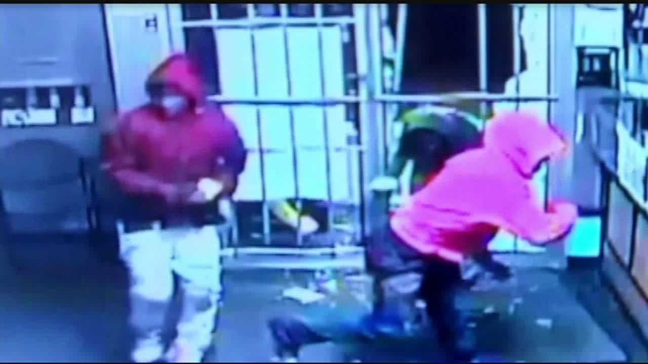 Police seek individuals involved in Cricket Store thefts