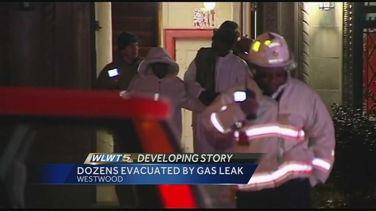 The heat will not yet be on inside a building that was evacuated overnight for a CO leak.