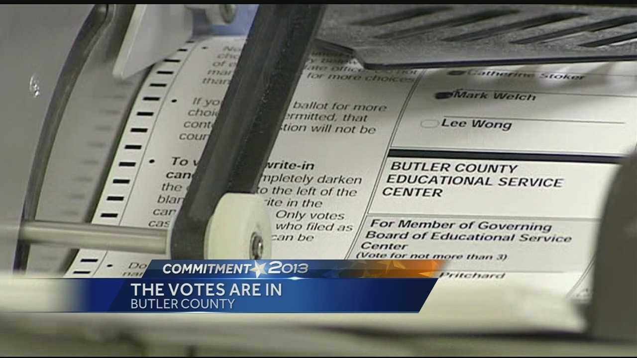 The esults of a pair of Butler County school levies have not changed, but the numbers have.