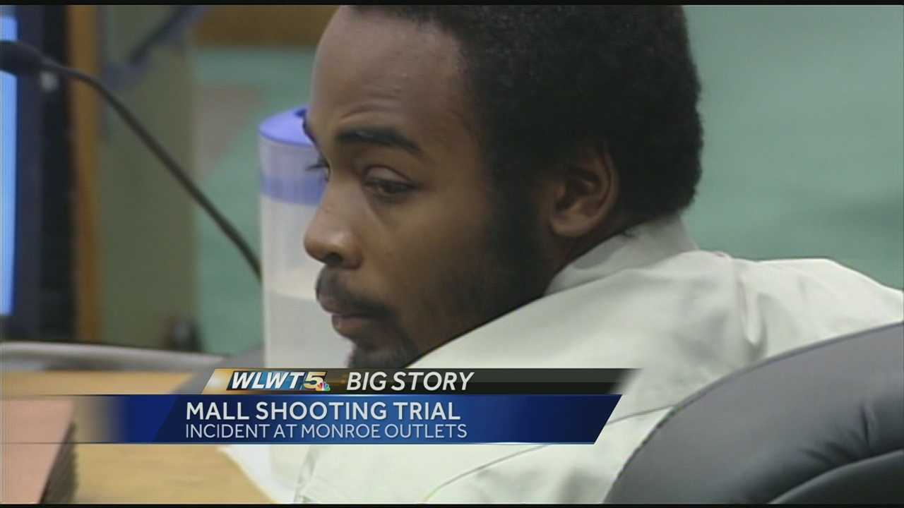 Jamarcus Brown was in a Warren County courtroom Thursday to face three felony charges in connection with an incident at the Monroe Outlet Mall.