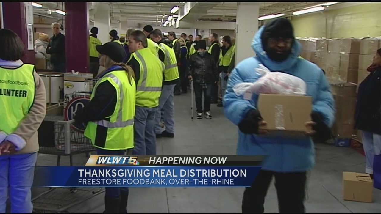 A local food bank that helps thousands during the holidays is doing it again this week.