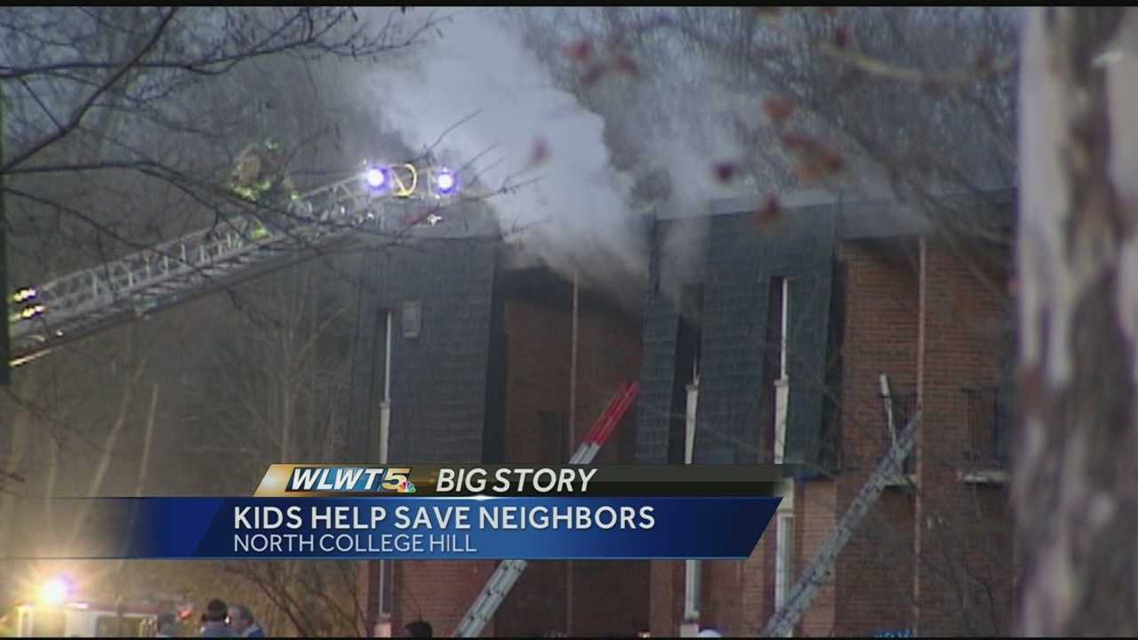 Investigators say one person was killed in a fire at an apartment building in North College Hill.