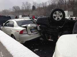 The seventh most-popular slideshow of 2013 was of the massive 41 car pileup on Interstate 75 in January. Click here to view photos from the major accident.