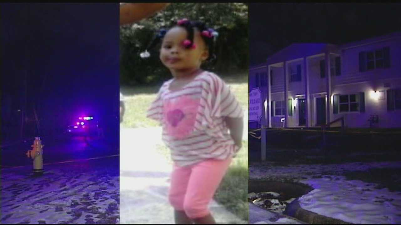 Police described the shooting as taking place during a running gun battle, and the 3-year-old, Leah Johnson, was hit by a stray bullet.