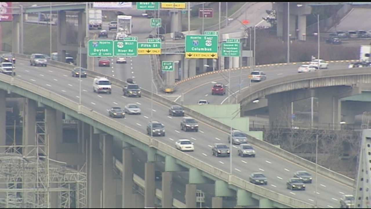 Tri-State travelers packed highways and CVG to be with family for the Christmas holiday.