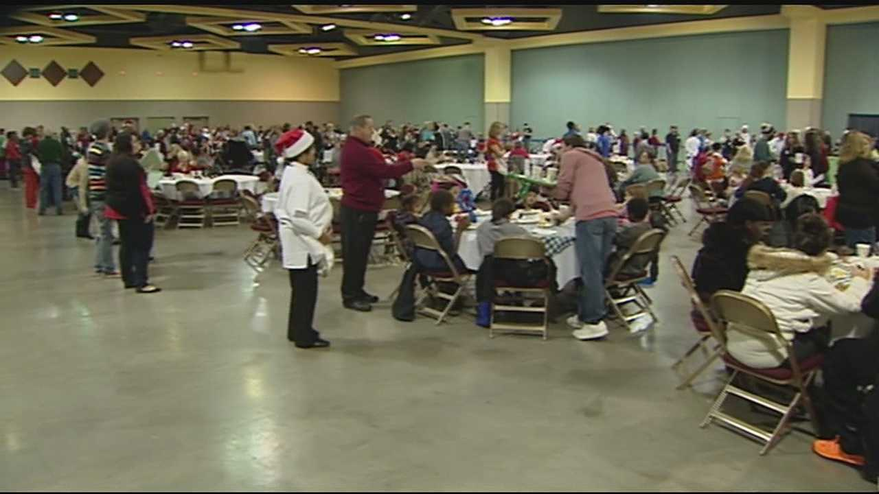 Families found generosity at Northern Kentucky's Convention Center