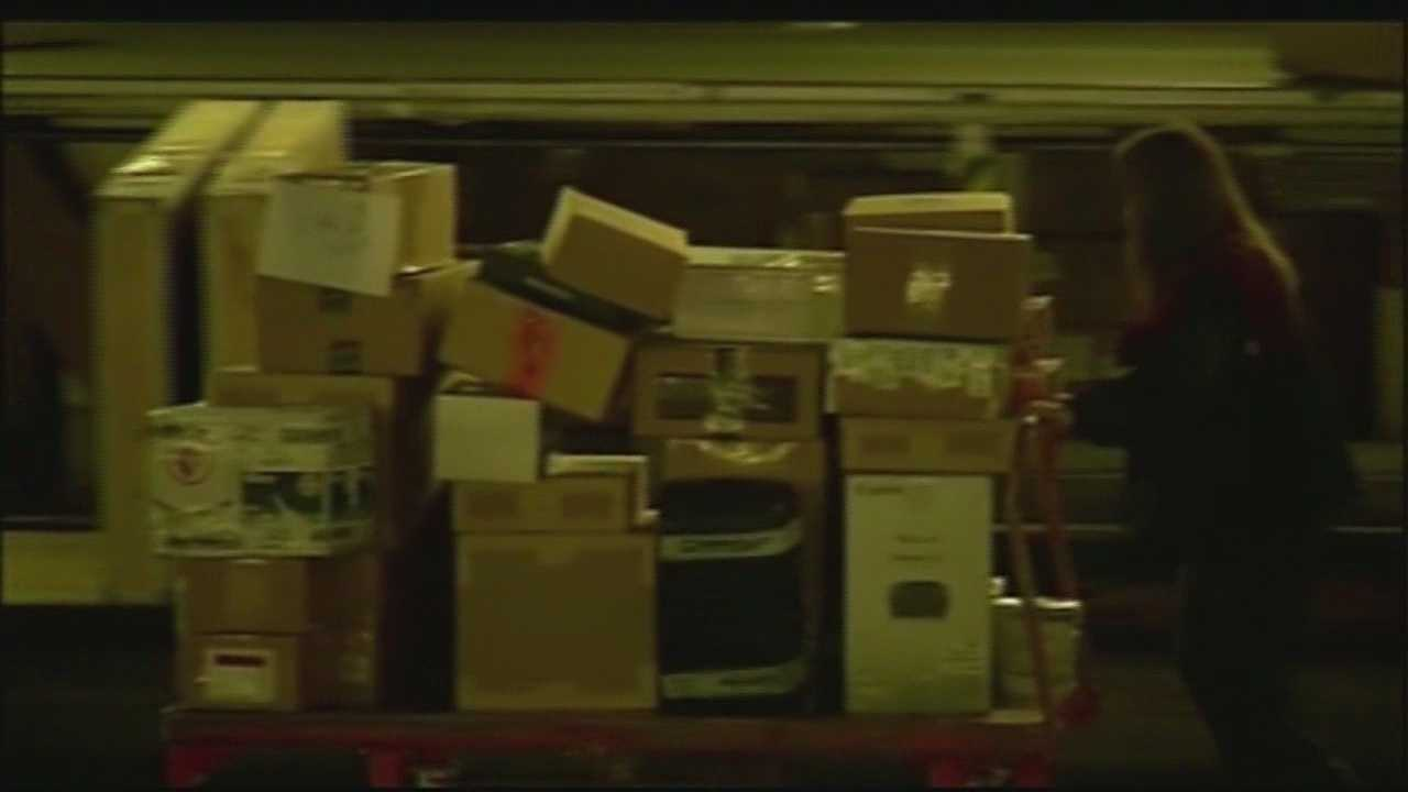 A spokeswoman for UPS said she didn't know if customers would receive refunds.