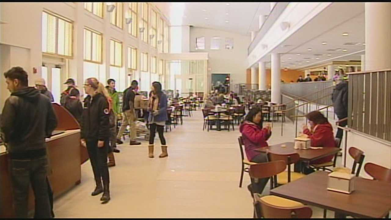 Miami University students got their first glimpse inside the new $46 million student center.
