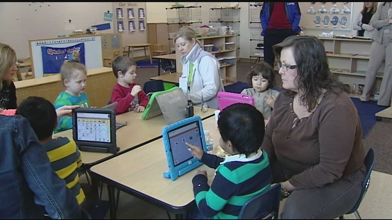 The Mason Early Childhood Center is using tablets to unlock something special in their students with autism. They use the tablet to count, describe pictures and make comments&#x3B; things that they would otherwise not be able to do.