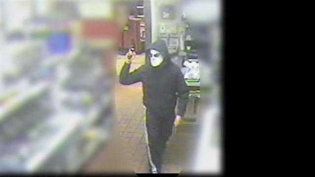 Masked robber held up a Corryville Taco Bell at gunpoint