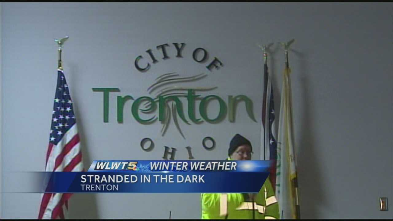 The electrical substation in Trenton, Ohio was stressed all week trying to keep up with the falling temps. It finally failed Saturday, and the city was forced to activate their emergency warming shelter.