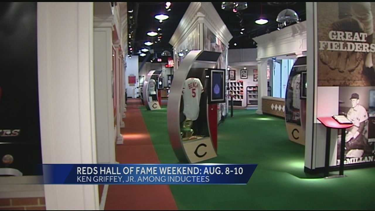 The Reds' Hall of Fame announced the men that will be inducted this August. Ken Griffey Junior, Dave Parker, Ron Oester and the late Jake Beckley will all join the hallowed halls of the Reds famous individuals.