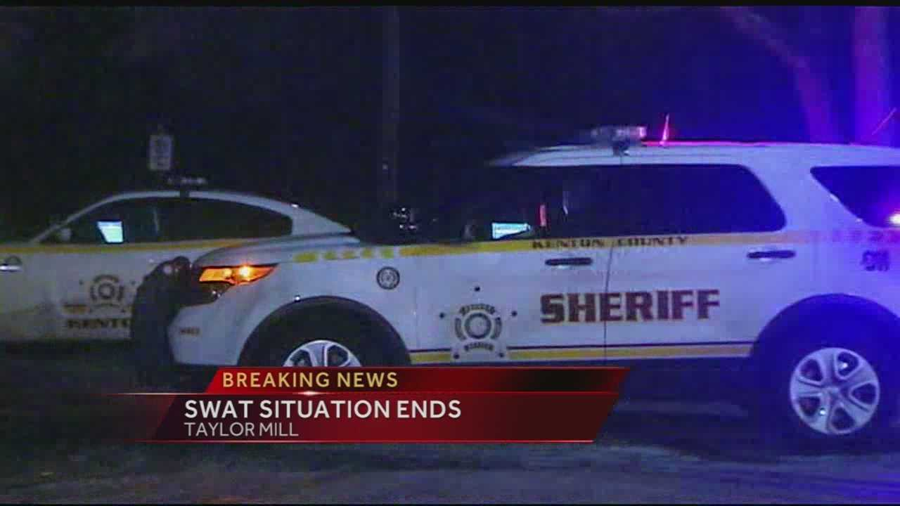 A SWAT standoff in Northern Kentucky has ended peacefully. Kenton County dispatchers said the SWAT team and officers were called to a home on Janet Drive in Taylor Mill about 8 p.m. Monday.