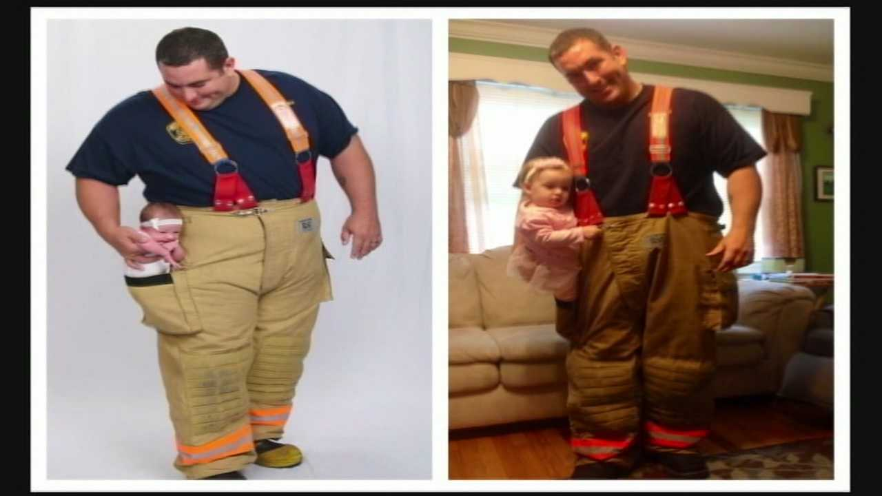 Firefighter Sal Fucito, 41, was invited to the season finale in Hollywood.
