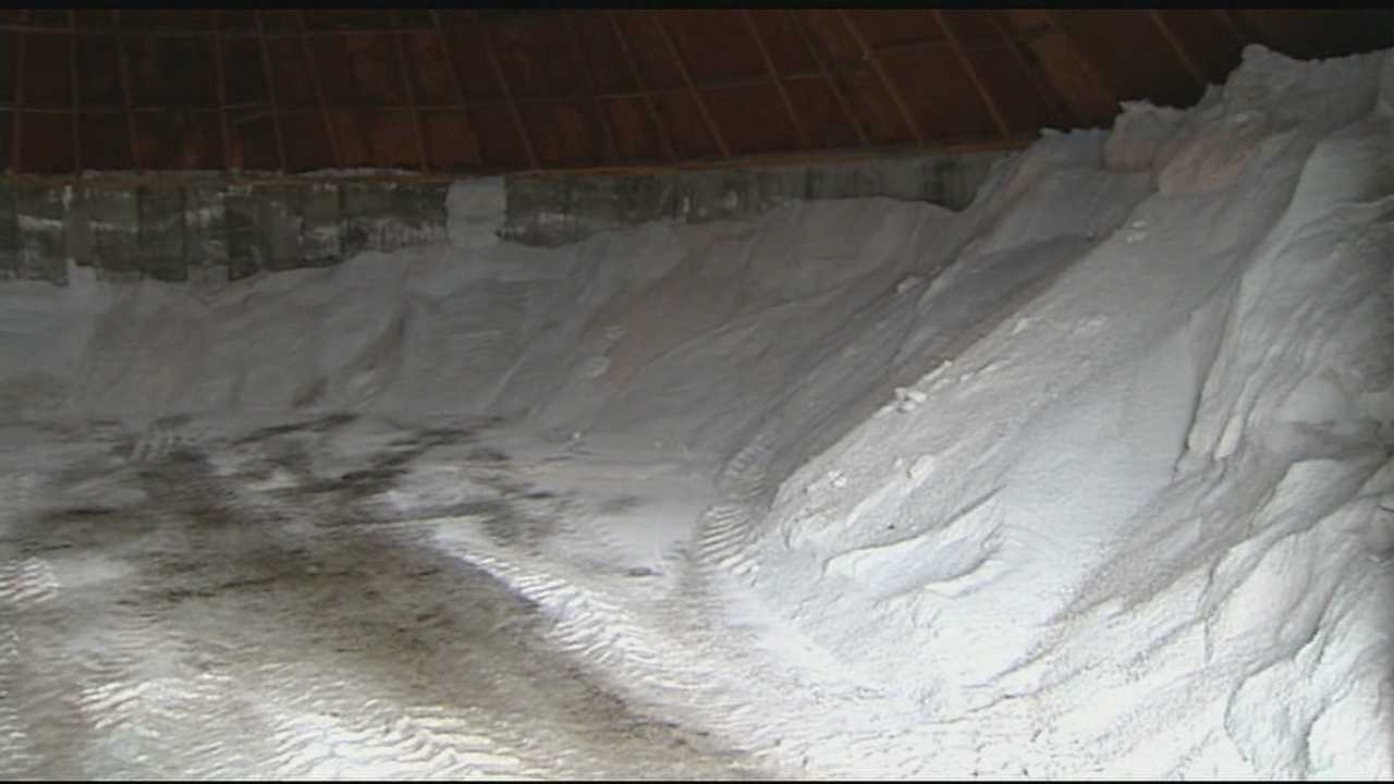 Cities very low on salt supply, ODOT trying to help