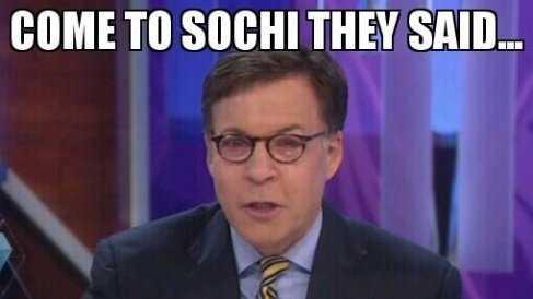 Sochi meme - Costas