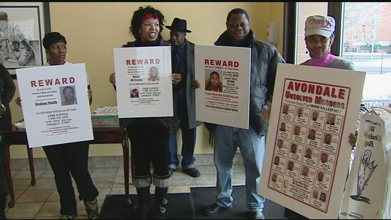 Several neighborhood groups in Cincinnati are launching a poster campaign to help solve cold case murders.