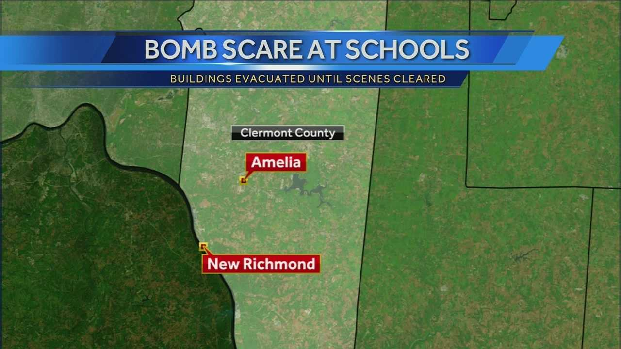 10 schools evacuated