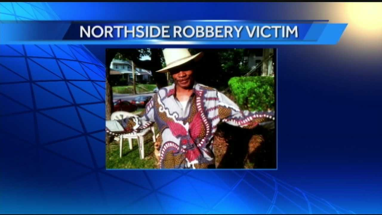 Gregory Tramble, 65, was robbed and shot while he sat on his own front porch in Northside. Police are seeking two teenage assailants who were described as being between 14 and 16 years old.