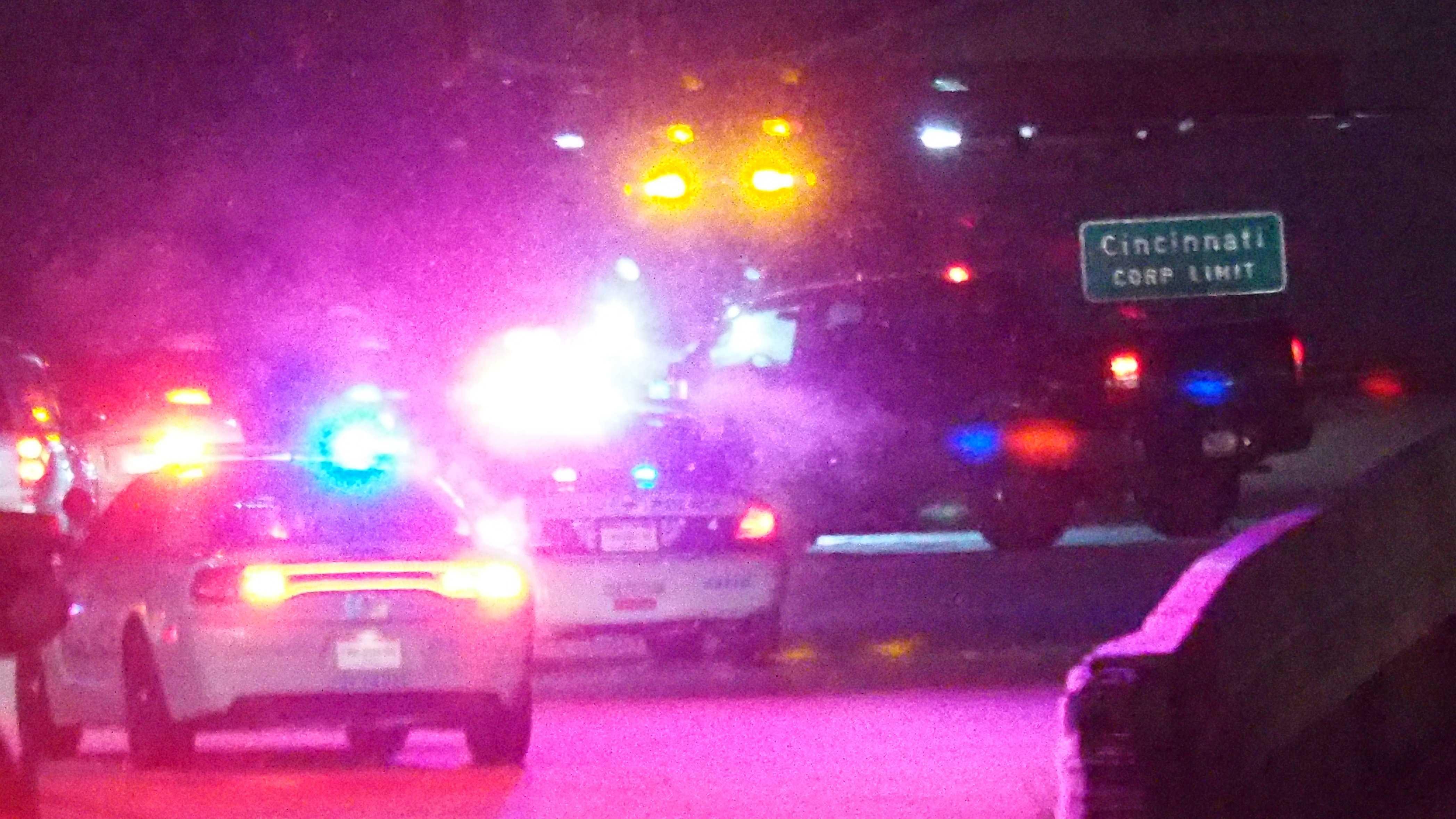 Crash on EB Reagan near I-75