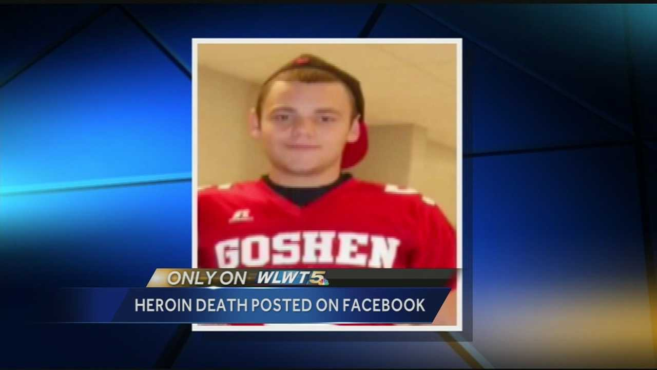 A Clermont County mother says her son's friends injected him with heroin, causing his death, then took pictures of him after he died of an overdose and posted them on Facebook.