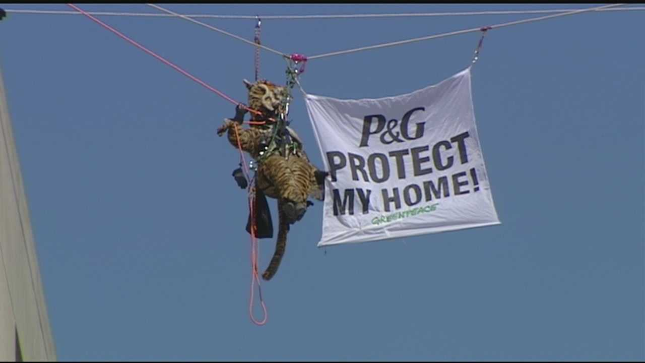 Police share details of Greenpeace's Procter and Gamble protest