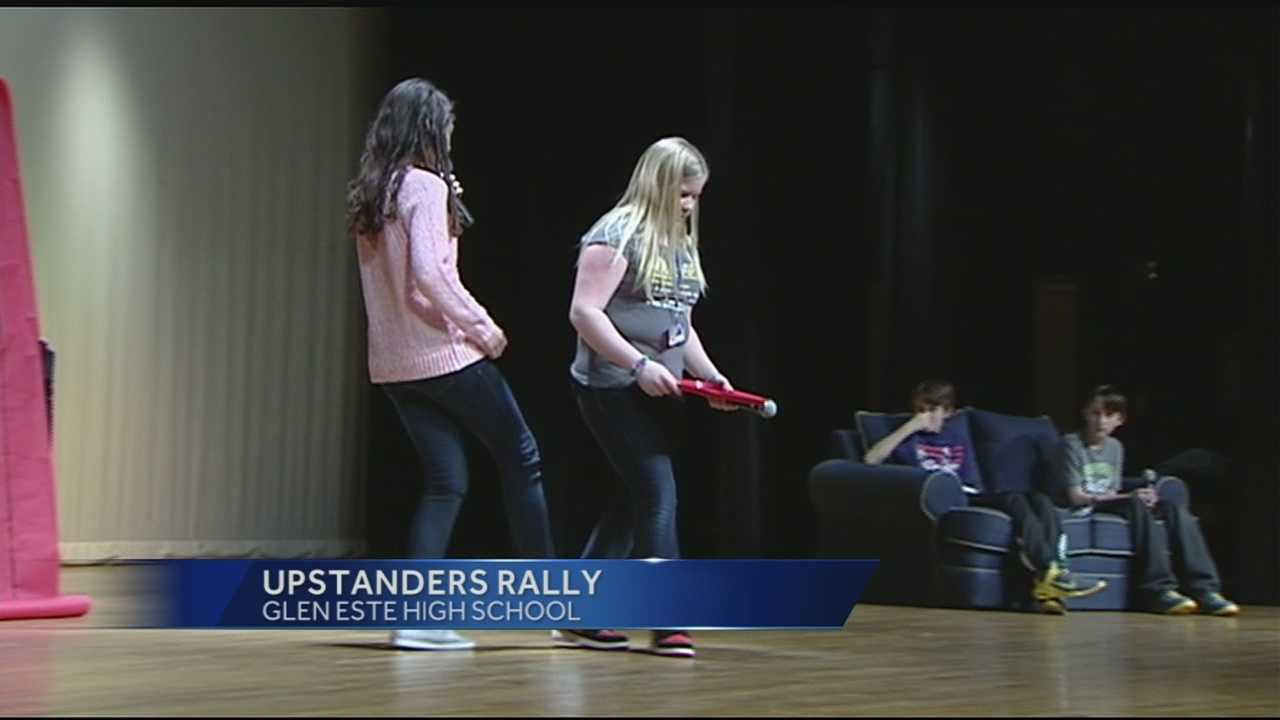 Glen Este schools hold 'Upstanders' rally, take stand against bullying
