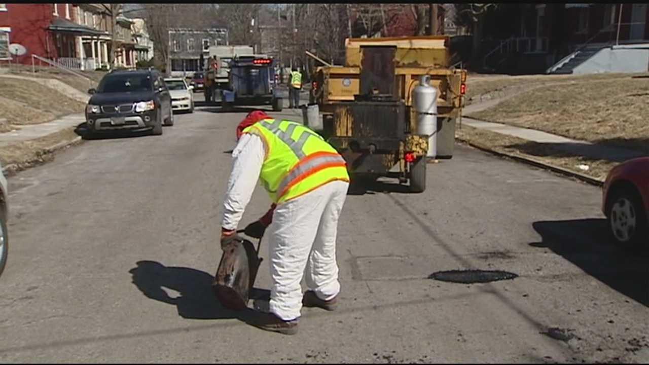 City's pothole blitz kickoff postponed
