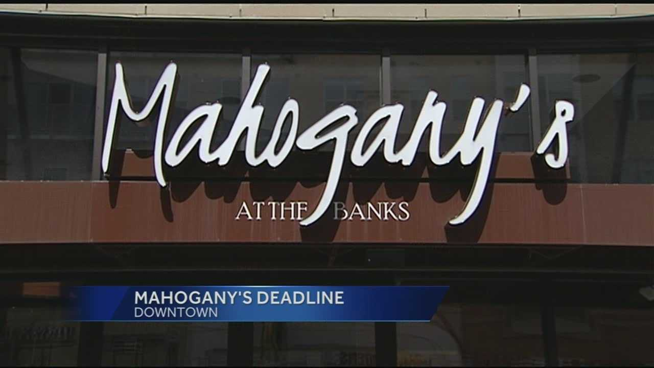 Mahogany's spokespeople said that the payments have been made and the soul food restaurant will remain open. The restaurant was in debt for back rent and back taxes not being paid. City officials said that the restaurant staying open is important for the Banks and for the city.