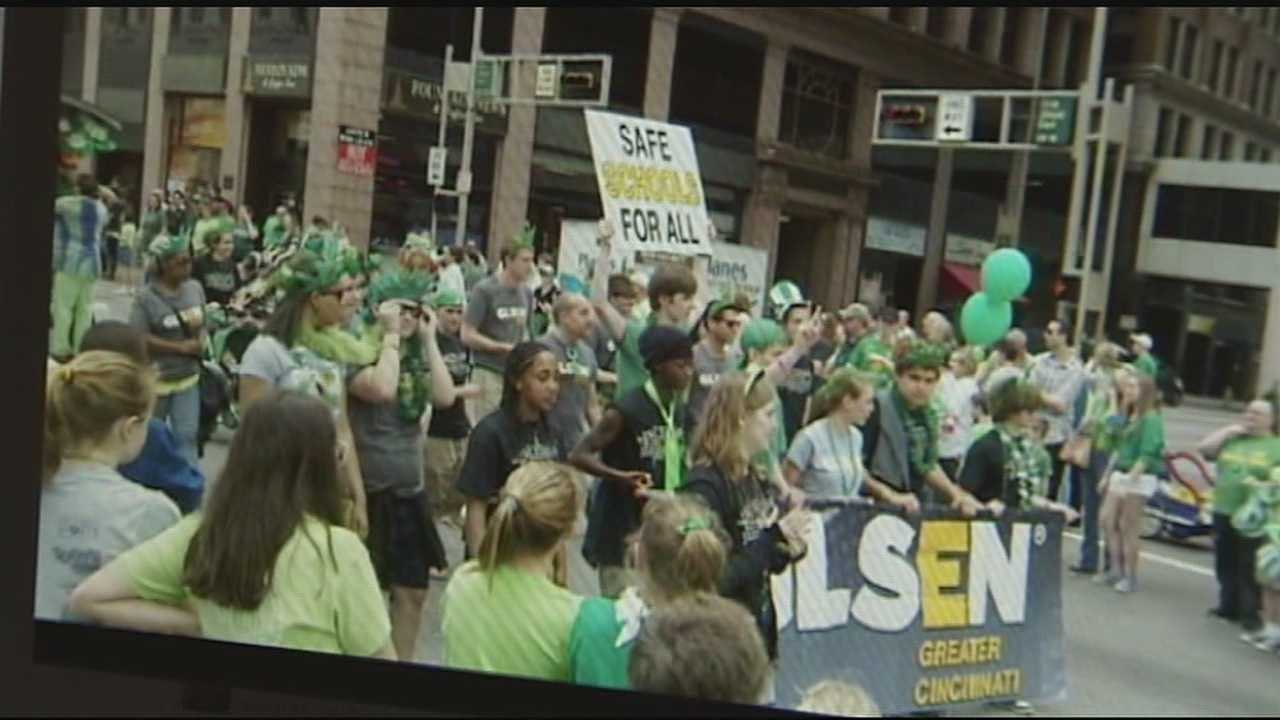 The Gay, Lesbian and Straight Education Network or GLSTEN will not be allowed into the parade for a second time.