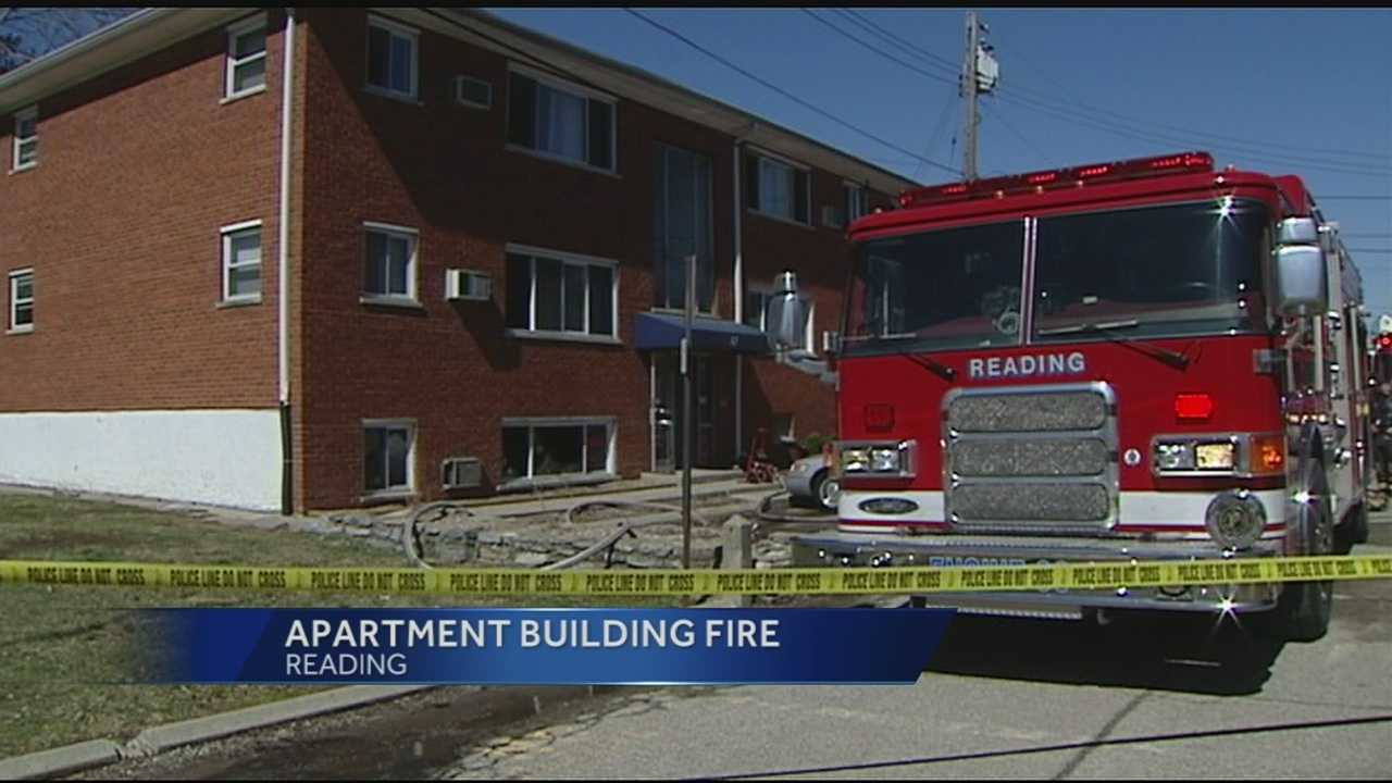 reading apartment fire