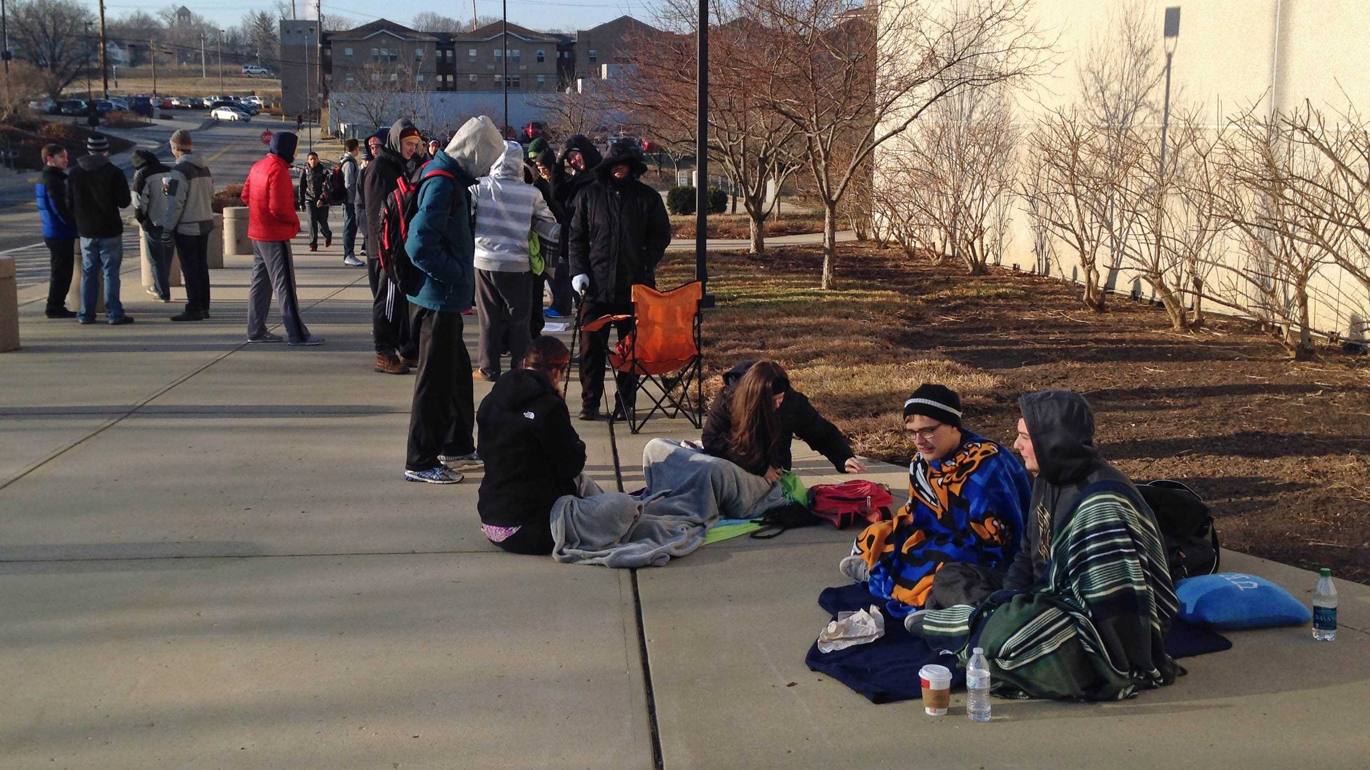 Xavier students camp for tickets.jpg